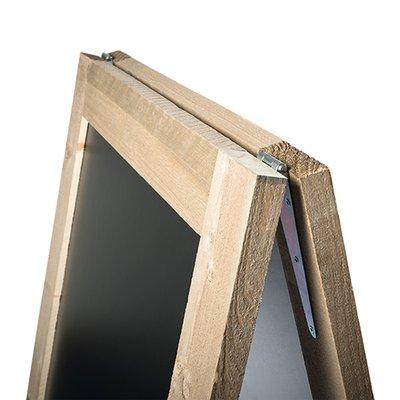 Krijtstoepbord Steigerhout gepersonaliseerd 70x115 cm