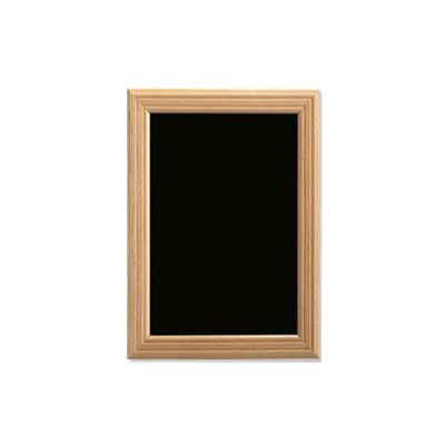 Krijtwandbord Blank houten omlijsting 40x60cm