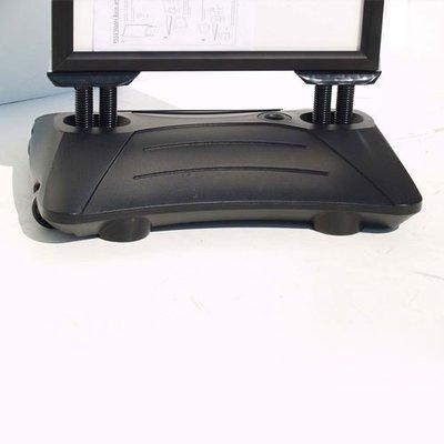 Stoepbord Deluxe A1 Zwart +2Krijt